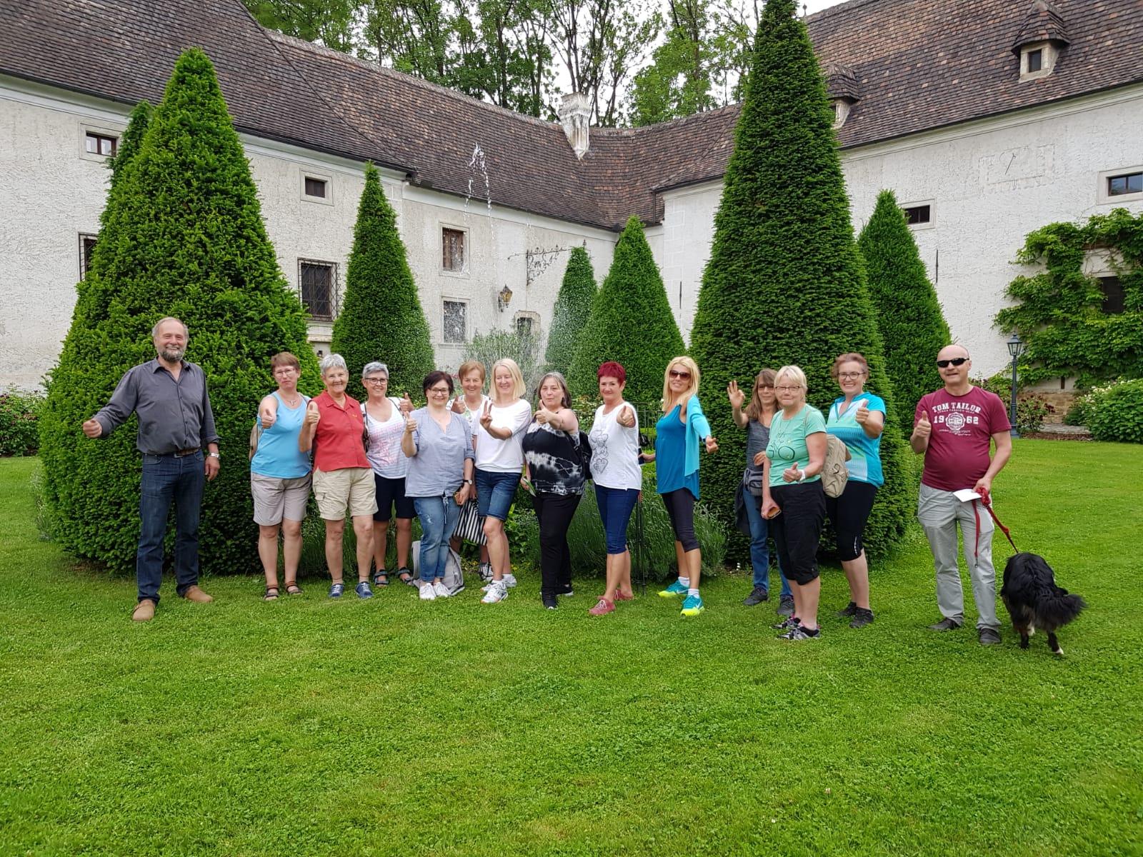 Wanderung Gruppenfoto