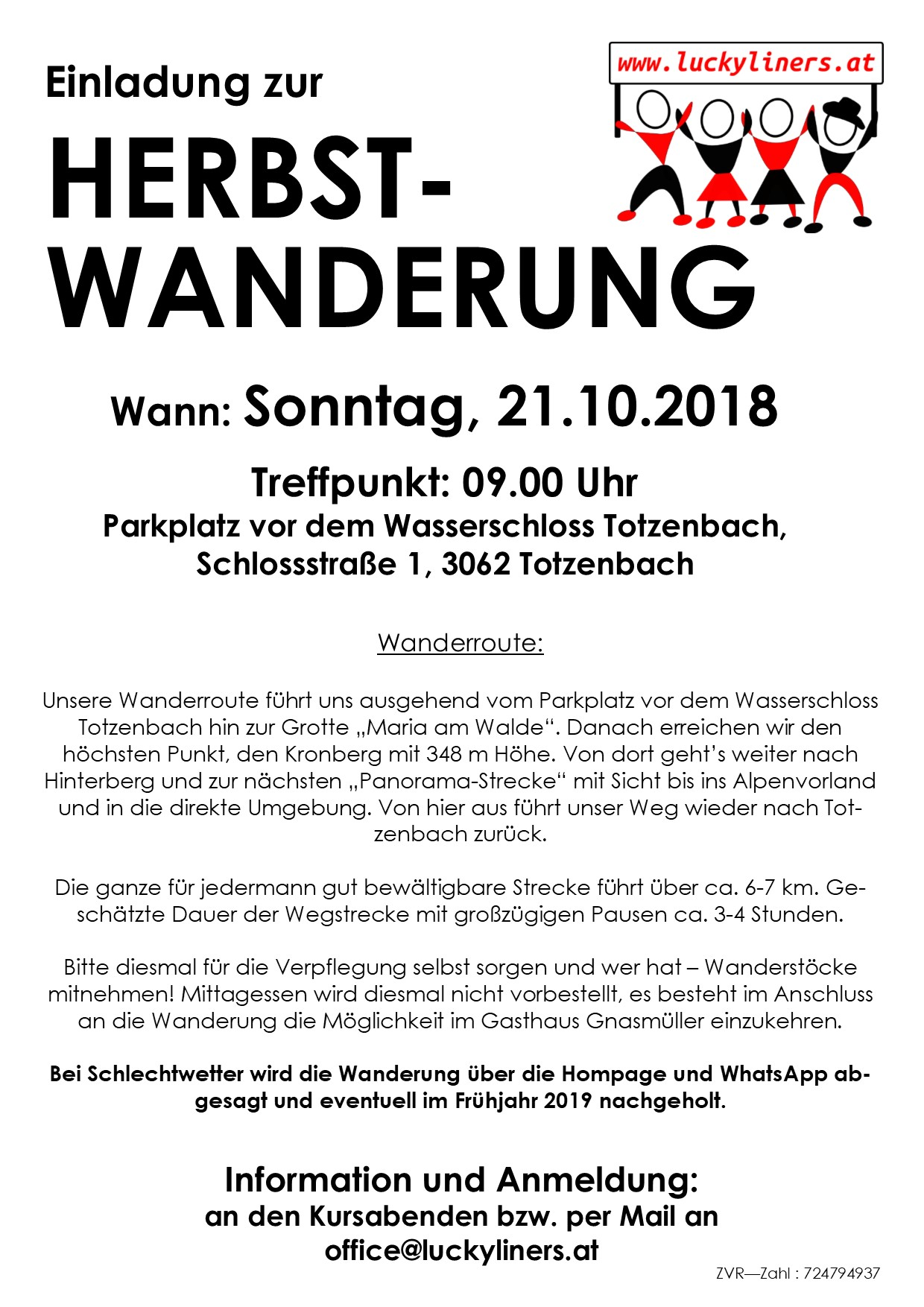 2018 Herbstwanderung1