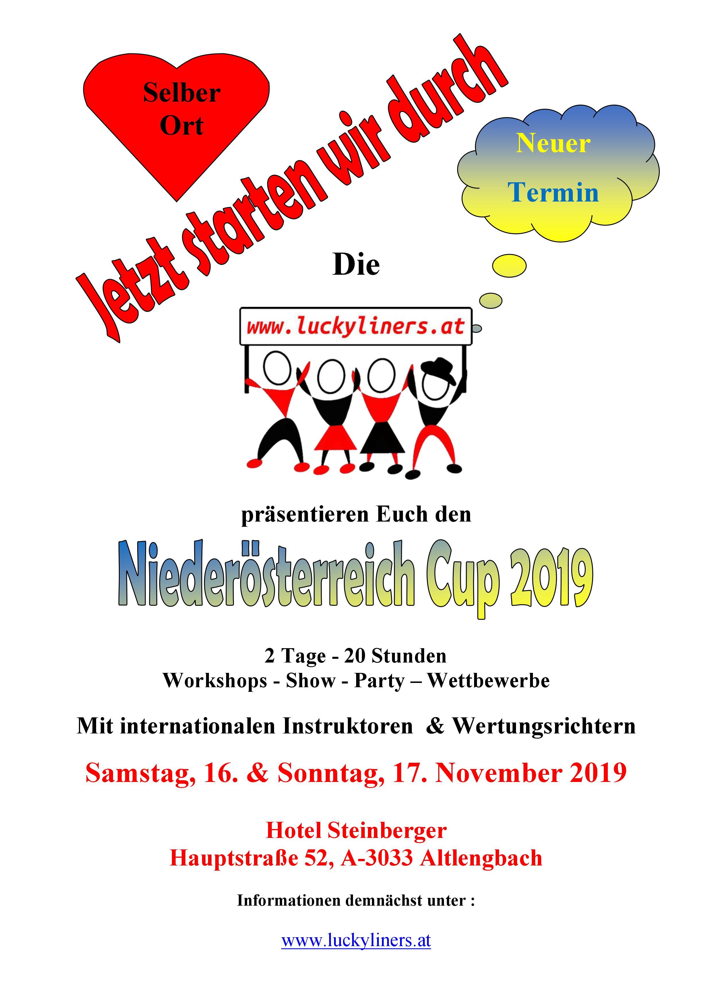 Flyer NÖ-Cup 2019