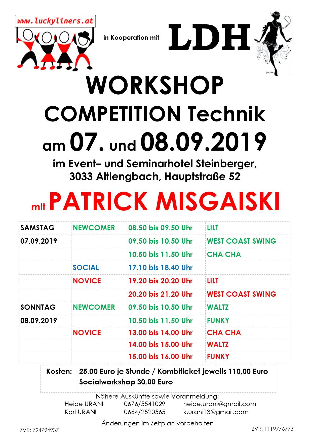Korr WS 07.+08.09.2019 Misgaiski